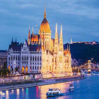 12-Day Europe Tour : Frankfrut – Bratislava - Budapest – Vienna – Amsterdam – Paris