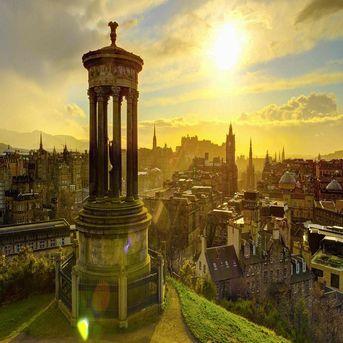 7D Britain tour: England - Scotland – Wales
