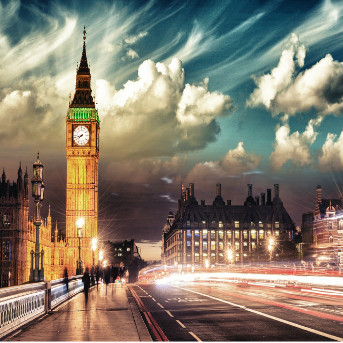 12D UK + Western Europe : London - Edinburgh - Frankfurt - Amsterdam